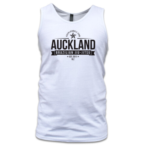 singlet (front and back logo) - aucklandbjj.com
